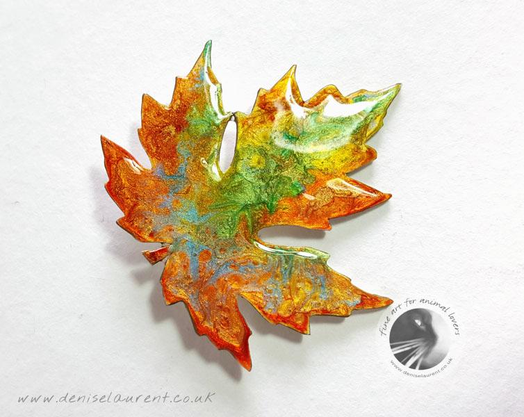 Autumn Leaf No 13