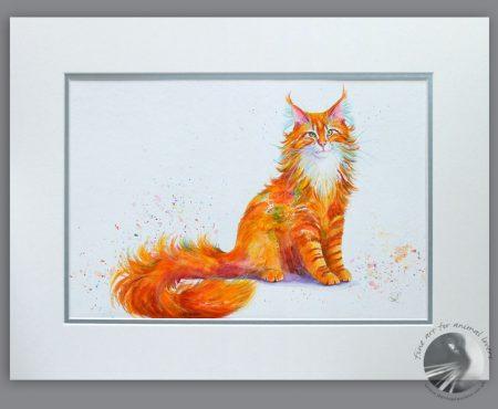 Ginger Nut 18x14 acrylic painting