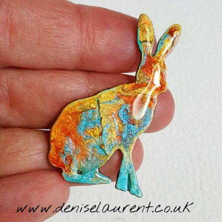 hare brooch