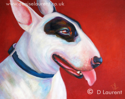 Lola - The Finished Painting