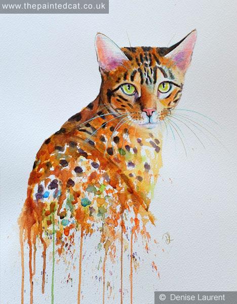 bengal in watercolour