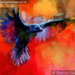 Landing Crow