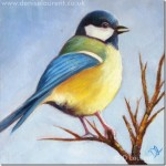 A Great Tit Painting – Sold