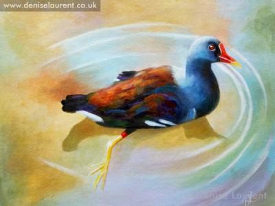 moorhen-painting